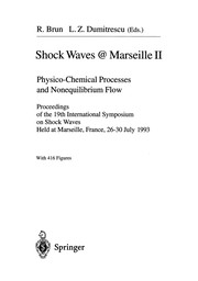 Cover of: Shock Waves @ Marseille II | Raymond Brun