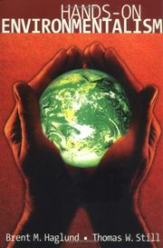 Cover of: Hands-on environmentalism | Brent M. Haglund