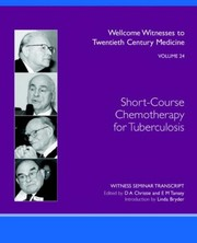Cover of: Short-course chemotherapy for tuberculosis | Christie, D. A.