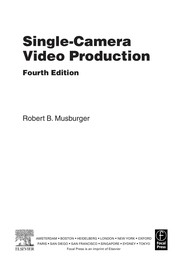 Cover of: Single-camera video production | Robert B. Musburger