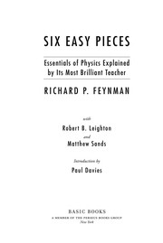 Cover of: Six easy pieces | Richard Phillips Feynman