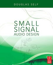 Cover of: Small Signal Audio Design | Douglas Self