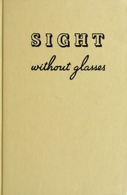 Cover of: Sight without glasses