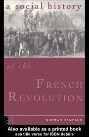 Cover of: Social History of the French Revolution | Norman Hampson