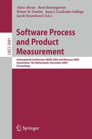 Cover of: Software Process and Product Measurement | Alain Abran