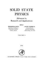 Cover of: Solid State Physics, 9.