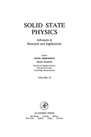 Cover of: Solid state physics