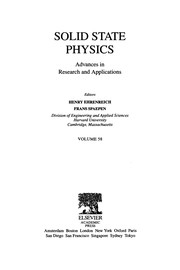 Cover of: Solid State Physics, 58