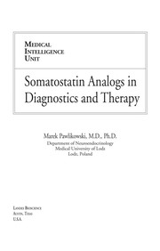 Cover of: Somatostatin analogs in diagnostics and therapy | M. Pawlikowski