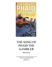 Cover of: Phaid the Gambler (Song of Phaid the Gambler, Part 1)