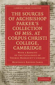 Cover of: The Sources of Archbishop Parker