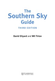 Cover of: The Southern Sky Guide | David Ellyard