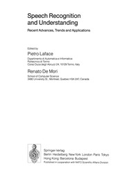 Cover of: Speech Recognition and Understanding | Pietro Laface