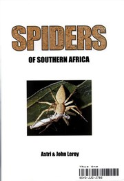 Cover of: Spiders of Southern Africa | Astri Leroy