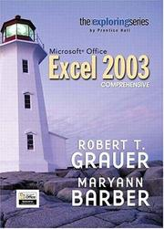 Cover of: Exploring Microsoft Excel 2003 Comprehensive
