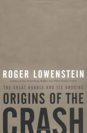 Cover of: Origins of the Crash | Roger Lowenstein