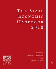Cover of: The State economic handbook | Anderson Economic Group