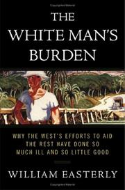 Cover of: The white man's burden