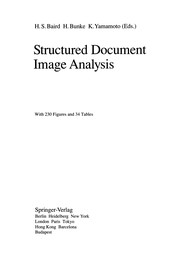 Cover of: Structured Document Image Analysis | Henry S. Baird