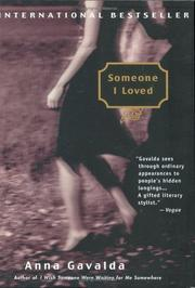 Cover of: Someone I loved