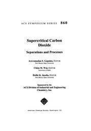 Cover of: Supercritical carbon dioxide |