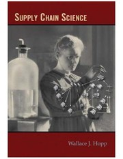 Cover of: Supply chain science