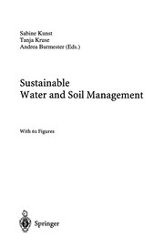Cover of: Sustainable Water and Soil Management