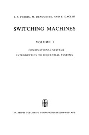 Cover of: Switching Machines | J.-P Perrin
