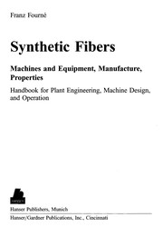 Cover of: Synthetic fibers | Franz FourneМЃ