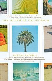 Cover of: The Ruins of California