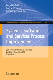 Cover of: Systems, Software and Services Process Improvement | Fergal McCaffery
