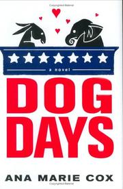 Cover of: Dog days | Ana Marie Cox