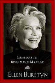 Cover of: Lessons in Becoming Myself | Ellen Burstyn