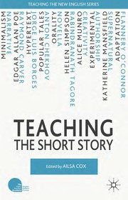 Cover of: Teaching the short story | Ailsa Cox