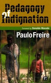 Cover of: Pedagogy of Indignation