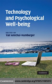 Cover of: Technology and psychological well-being |