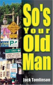 Cover of: So's Your Old Man