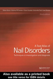 Cover of: A text atlas of nail disorders |