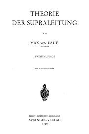 Cover of: Theorie der Supraleitung