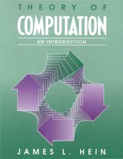 Cover of: Theory of computation | James L. Hein
