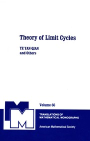 Cover of: Theory of limit cycles