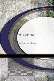 Cover of: The Sign of Four | Arthur Conan Doyle