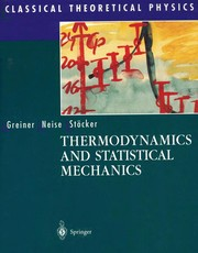 Cover of: Thermodynamics and statistical mechanics