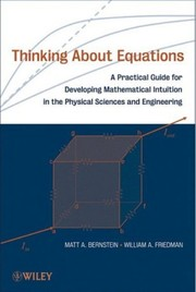 Cover of: Thinking about equations | Matt A. Berstein