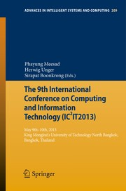 Cover of: The 9th International Conference on Computing and InformationTechnology (IC2IT2013) | Phayung Meesad