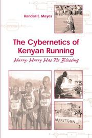 Cover of: The Cybernetics Of Kenyan Running | Randall E. Mayes