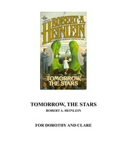 Cover of: Tomorrow the Stars: a science fiction anthology