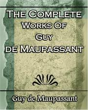 Cover of: Complete works of Guy de Maupassant ..