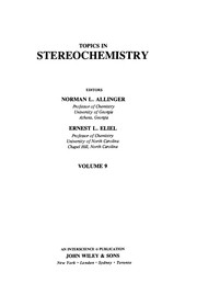 Cover of: Topics in Stereochemistry | ALLINGER