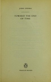 Cover of: Toward the end of time | John Updike